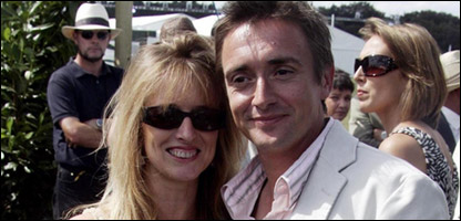 Richard Hammond and his wife Amanda