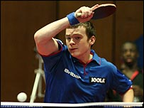 Table Tennis player Paul Drinkhall