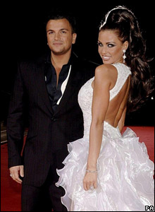 Peter Andre and Jordan