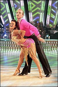 Spare a thought for the runner-up. Rugby star Matt Dawson proved he was a twinkle toes on the dancefloor as well!