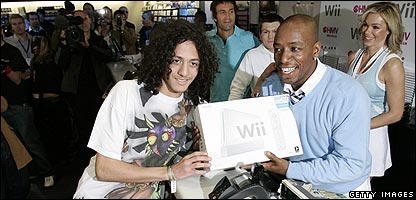 The Nintendo Wii goes on sale