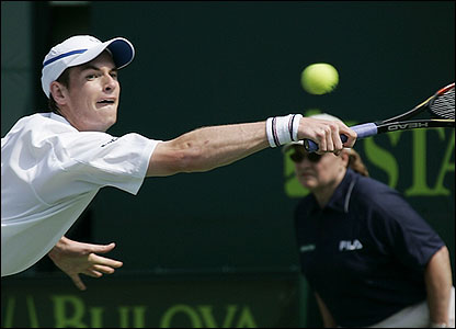 In April 2007, Murray broke into the top 10 players in the world. By June, he was the world number nine, but enters the 2007 Wimbledon tournament still recovering from a wrist injury.
