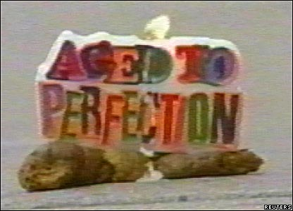 'Aged to perfection' poo