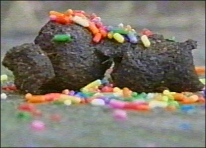 Decorated dog poo
