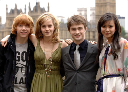 Stars from Harry Potter And The Order Of The Phoenix