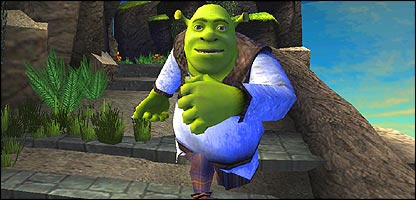 Shrek the Third game scene
