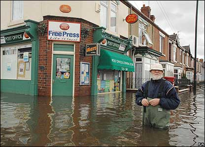 Floods in Yorkshire
