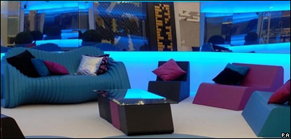 Inside the Celebrity Big Brother house