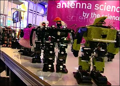 Robots at the Science Museum