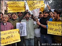 Protests in India about Celebrity Big Brother