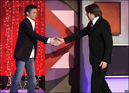 Richard Hammond and Jonathan Ross