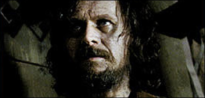Gary Oldman playing Sirius Black in Harry Potter and the Prisoner of Azkaban