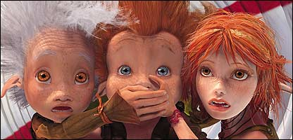 Cbbc Newsround Reviews Film Review Arthur And The Invisibles