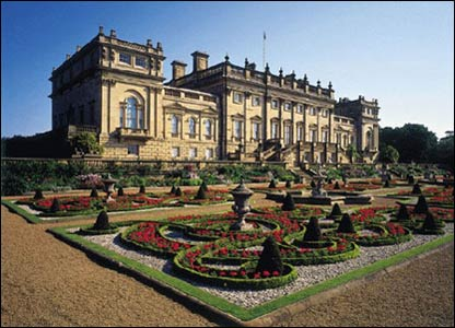 Harewood House in Yorkshire. Photo courtesy of Harewood House Trust