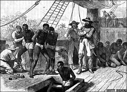 Picture of a slave ship
