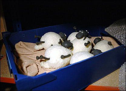 The rest of Shaun's flock gets caught out having a rest