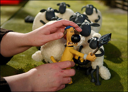 Making the Shaun the Sheep series