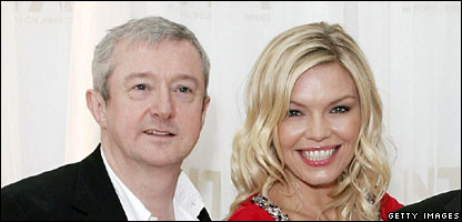 Louis Walsh and Kate Thornton