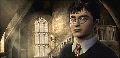 Harry Potter in the new video game - Harry Potter and the Order of the Phoenix