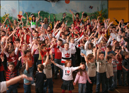 Kids at Hazlehead School in Aberdeen