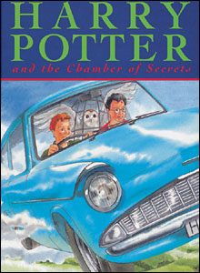 Chamber of secrets book cover