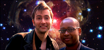 David Tennant and Lizo