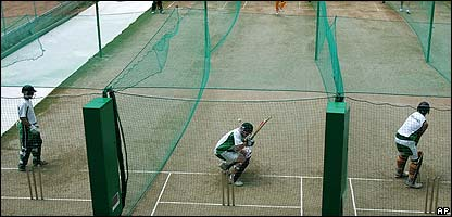 Nets at the Cricket World Cup