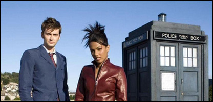 The Doctor and Martha Jones