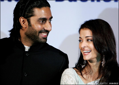 Aishwarya Rai was once Miss World. Her marriage to Abhishek Bachchan is Bollywood's biggest wedding for years.