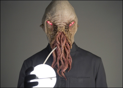 The Ood are a species of strange looking monsters with tentacles on the lower part of their faces. They live on the planet Horsehead Nebula.