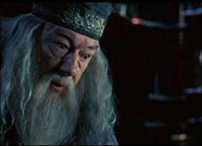 There's trouble at Hogwarts. It seems like Dumbledore's got a lot on his mind...
