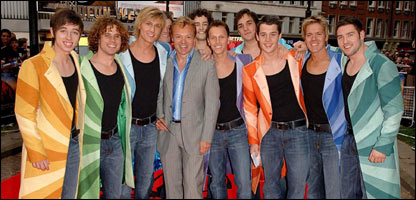 The final Josephs and host Graham Norton