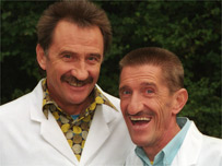 The Chuckle Brothers Paul (left) and Barry