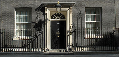 10, Downing Street - the Prime Minister's London residence