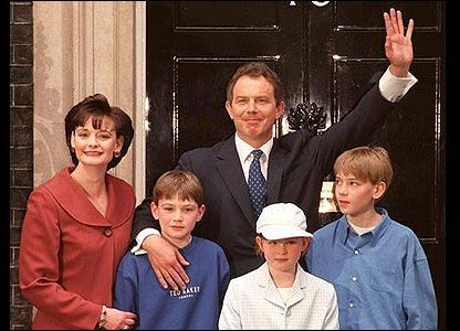 Image result for tony blair 1997 victory