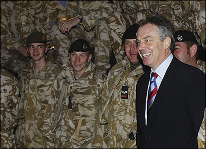 Four years after the invasion, British troops are still in Iraq.