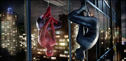 Scene from Spider-Man 3