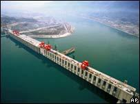 三峽大壩(2004年檔案照片)