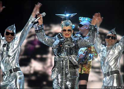 Verka Serduchka from the Ukraine