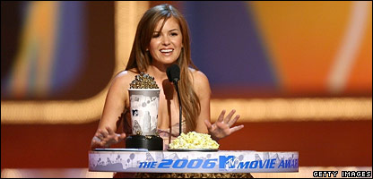 Isla Fisher at the MTV Movie Awards 2006