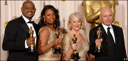 Some of the 2007 Oscar winners