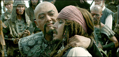 A still from Pirates of the Caribbean: At World's End