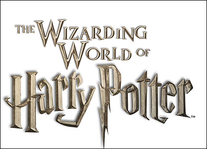 Here's the logo for the theme park. Are you a Potter fan? Maybe you love theme parks? Tell us what you think of Wizarding World by clicking on the link on this page.