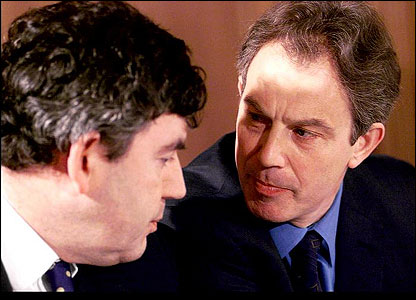 In 1994, it's thought that Gordon made a deal with Tony Blair that he wouldn't attempt to become Labour Party leader, if Tony allowed him to look after money matters.