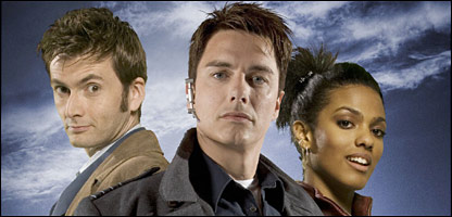 The Doctor, Captain Jack and Martha