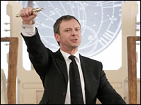 John Simm as Harold Saxon