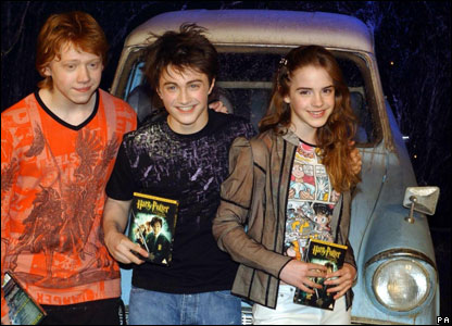 Fans had to wait until 2003 for the fifth book - Order Of The Phoenix. But, in the meantime, they got to see the movie of Chamber Of Secrets - complete with flying car!