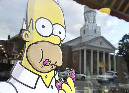 The Simpsons Movie premiere in the US