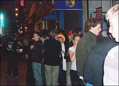 A Harry Potter queue in Brussels