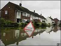 英格蘭中部水災